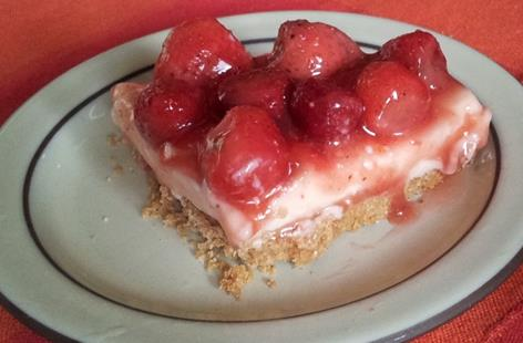 Strawberry & Ginger Cheesecake