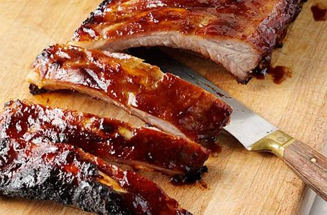 Stickly Chinese BBQ Ribs