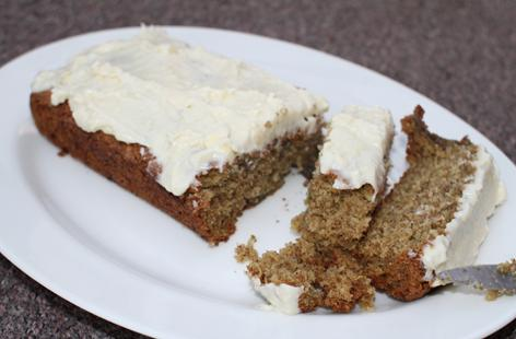 Fig and Courgette Cake