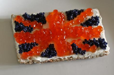 Jubilee Jack canapes