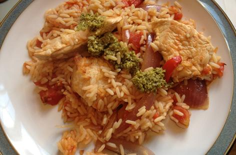 Italian Rice with Turkey