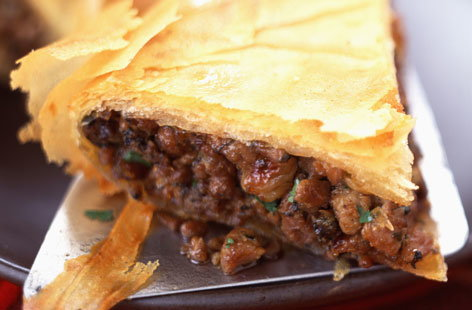 flaky lamb pastilla HERO
