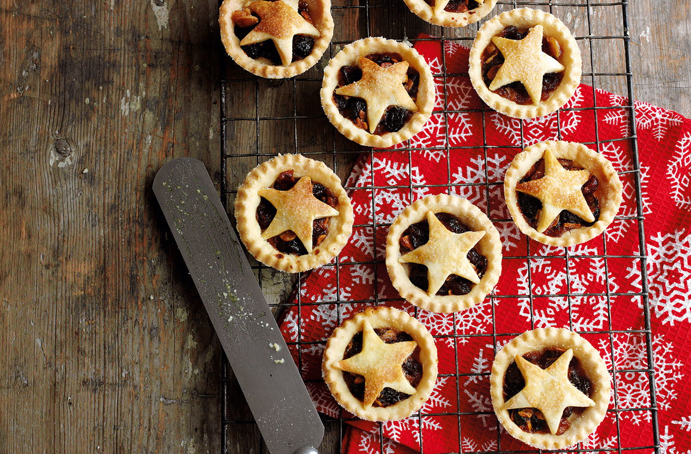 Make your own mince pie pastry