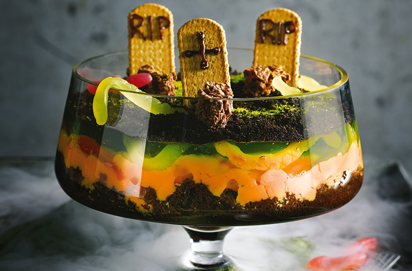 Graveyard trifle  recipe