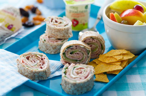 ham and cheese pinwheels (t)