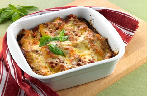Pork and beef cannelloni