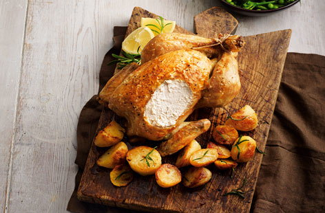 (h)classic roast chicken Tesco Real Food