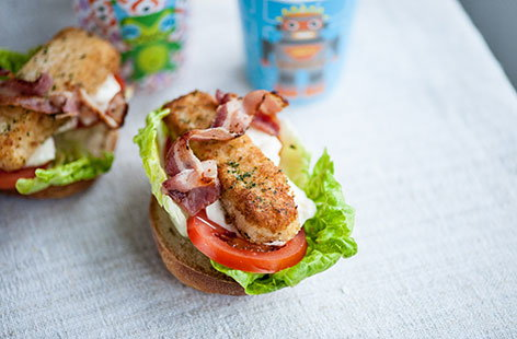 (t)fish finger BLT Great British Chef TESCO