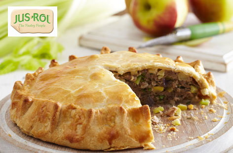 Sausage pie with apple | Tesco Real Food