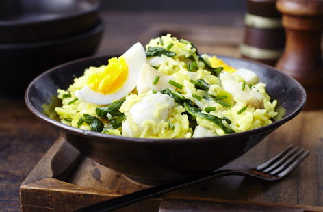 finest* smoked haddock and leek kedgeree