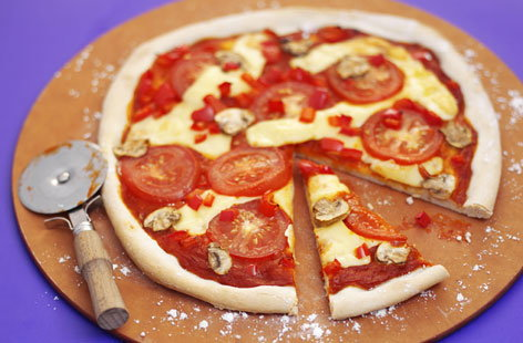 Cheese And Tomato Pizza Tesco Real Food