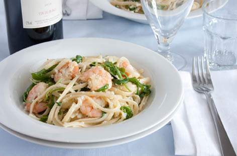 king prawn and crab linguine 1