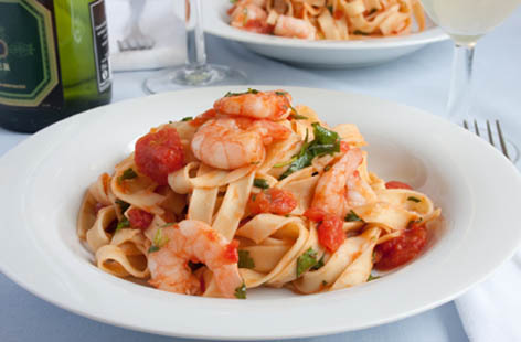 king prawn linguine 1
