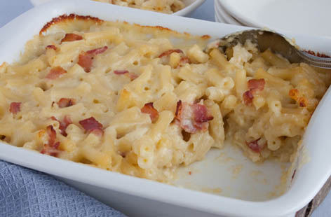 Macaroni Cheese With Bacon Tesco Real Food