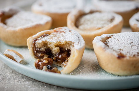 Marcus Wareing's mince pies