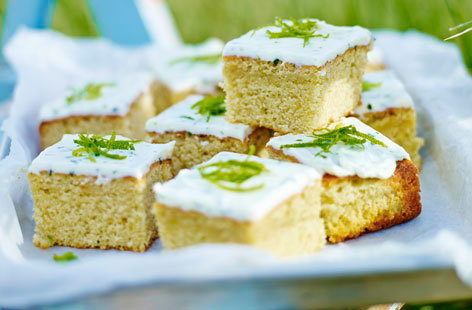 The kids might not be old enough to indulge in a cocktail just yet, but this sweet tray bake recipe – inspired by a classic Mojito – is the next best thing. Vanilla extract and sugar provide all the sweetness you need while lime zest and mint leaves add a refreshing twist.