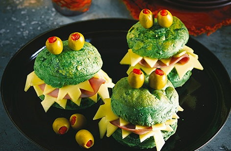 These monstrous munchies are sure to go down a treat at your Halloween party!
