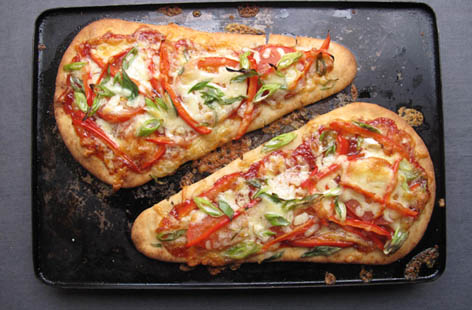 Image result for naan bread pizza