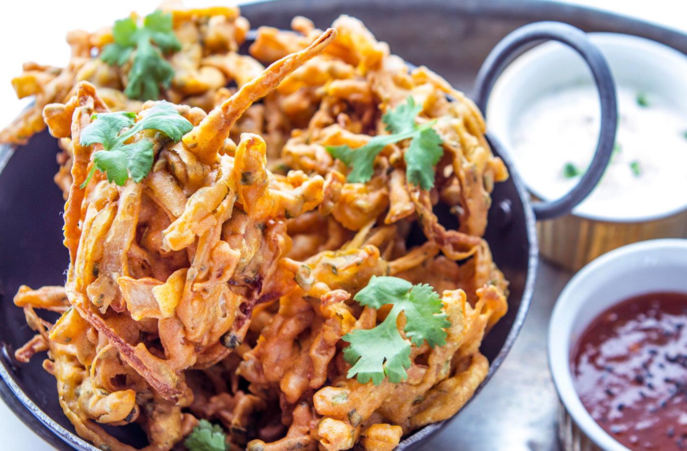 Onion bhaji recipe indian recipes tesco real food forumfinder Gallery