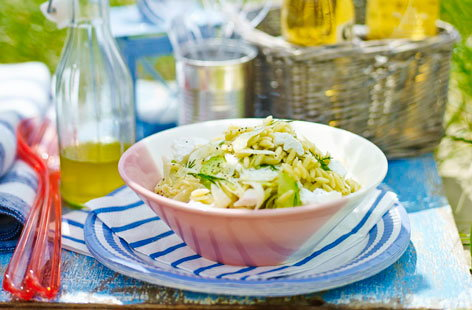 Try a refreshingly light orzo salad this summer, it will make the perfect accompaniment to any picnic dish