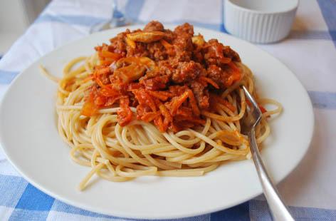 Спагетти по итальянски рецепт с фото пошагово