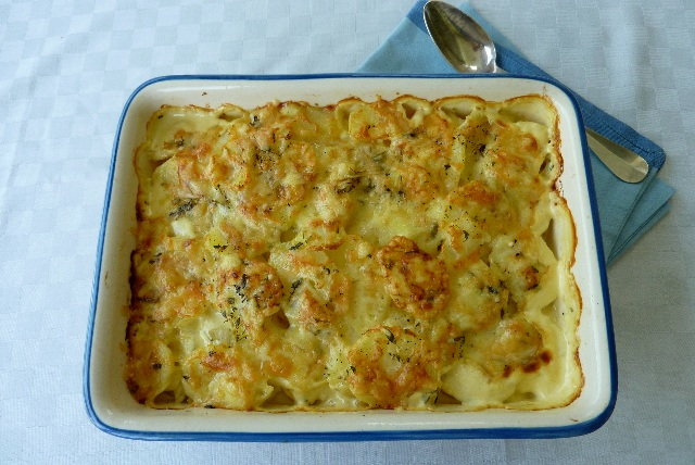 potato and leek dauphinoise