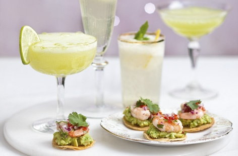 prawn and avocado tostadasTHUMB