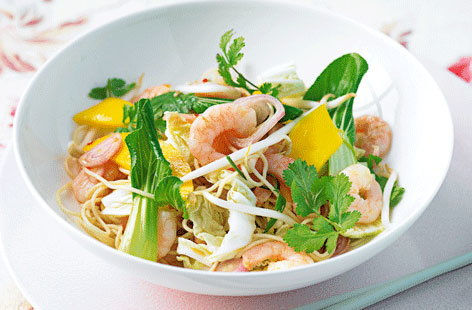 prawn mango noodle salad thumb d04752df 6ce2 479f bb0c 20ce118373cd 0 146x128