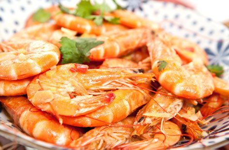 Malaysian prawn and coconut satay broth tesco real food for Spicy prawn risotto