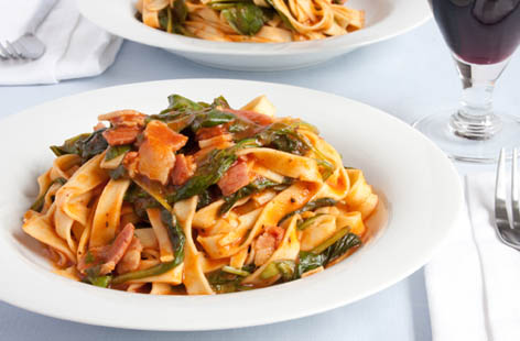 punchy bacon pasta 1