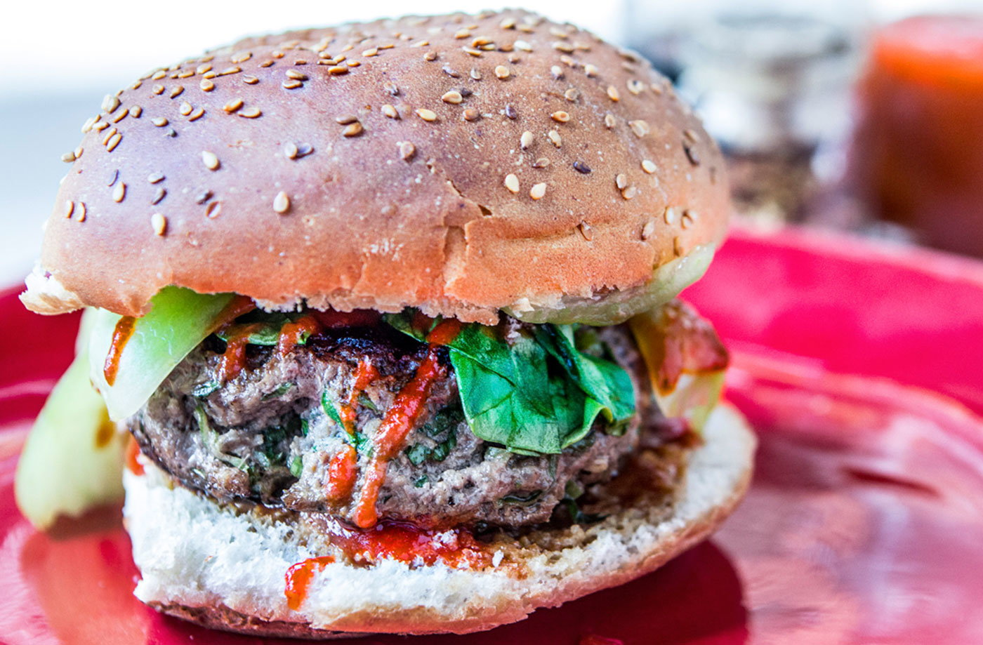Chinese five spice beef burger tesco real food chinese five spice beef burger recipe forumfinder Image collections