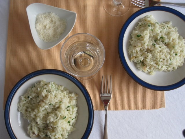 risotto with smoked haddock