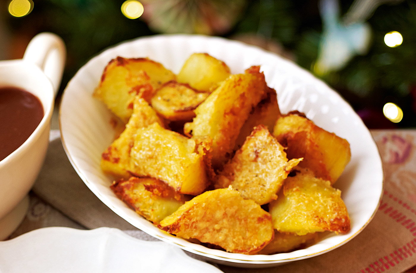 Roast potatoes with Parmesan recipe