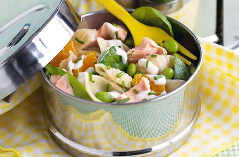 salmon pasta salad THUMB