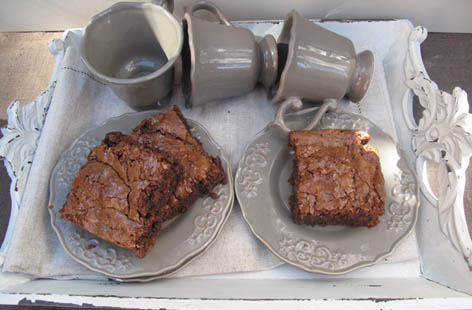 scrumptious chocolate brownies