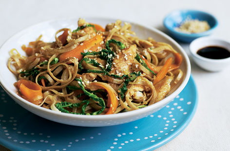 Organic Sesame Chicken Stir Fry Tesco Real Food