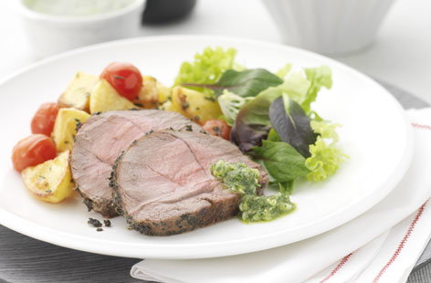 silverfern lamb roast mint hero
