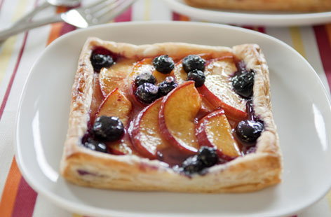 simple summer fruit tart THUMB