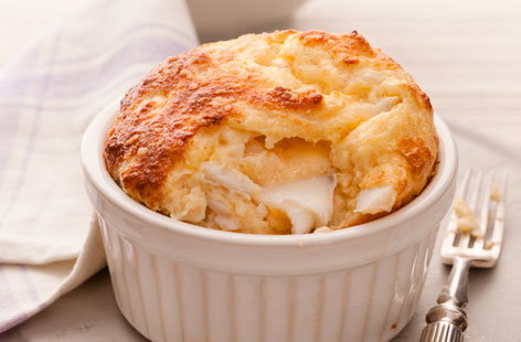 Smoked Cheddar Souffle Recipe — Dishmaps