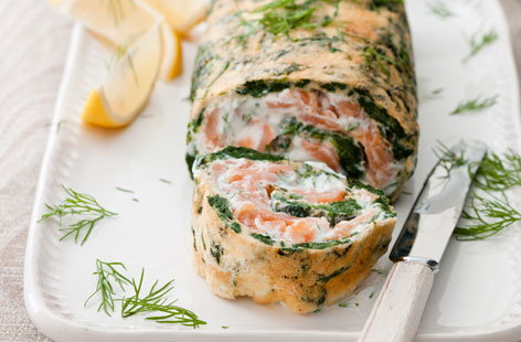 spinach and salmon roulade HERO