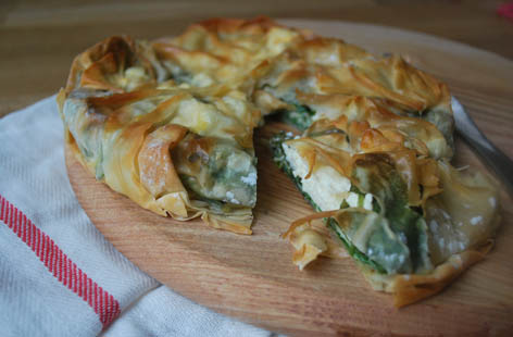 sublime spinach and feta pie