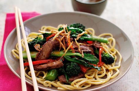 Broccoli and beef stir-fry | Tesco Real Food