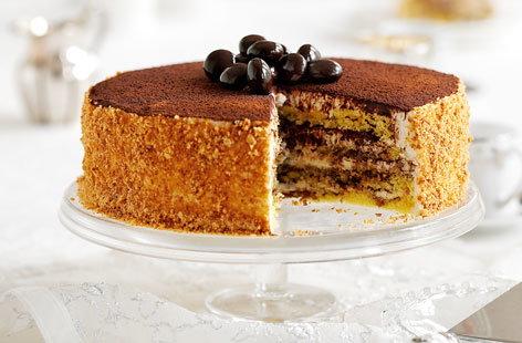 Tiramisu cake Tesco Real Food