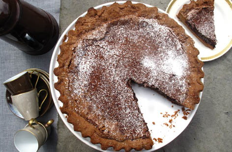 ultimate chocolate tart